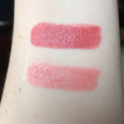 Lipstick Queen Bright Natural Sinner (top) & Saint Pinky Nude (bottom)
